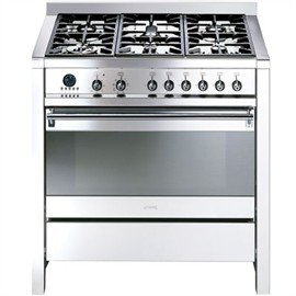 Image of Smeg 90cm Gas Freestanding Cooker - A11X-7