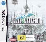 Square Enix Final Fantasy III Nintendo DS Game