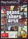 Rockstar Grand Theft Auto San Andreas PS2 Playstation 2 Game