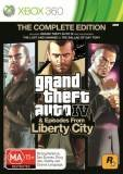 Rockstar Grand Theft Auto IV The Complete Edition Xbox 360 Game