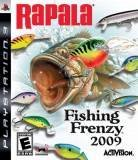Activision Rapala Fishing Frenzy PS3 Playstation 3 Game