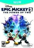 Disney Epic Mickey 2 The Power of Two Nintendo Wii U Game
