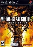 Konami Metal Gear Solid 3 Snake Eater PS2 Playstation 2 Game