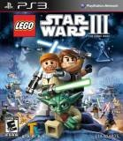 Lucas Art Lego Star Wars 3 The Clone Wars PS3 Playstation 3 Game