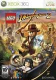 Lucas Art Lego Indiana Jones 2 The Adventure Continues Xbox 360 Game