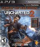 SCE Uncharted 2 Among Thieves Game of the Year Edition PS3 Playstation 3 Game