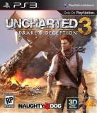 SCE Uncharted 3 Drakes Deception PS3 Playstation 3 Game