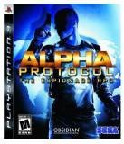 SEGA Alpha Protocol PS3 Playstation 3 Game
