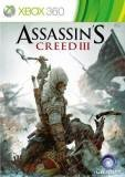 Ubisoft Assassins Creed III Xbox 360 Game