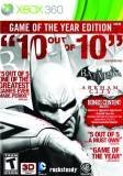 Warner Bros Batman Arkham City Game of the Year Edition Xbox 360 Game