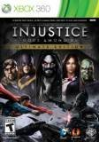 Warner Bros Injustice Gods Among Us Ultimate Edition Game Of The Year Xbox 360 Game
