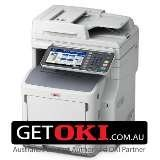 OKI MB760DNFAX Printer