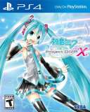 Sega Hatsune Miku Project DIVA X PS4 Playstation 4 Game