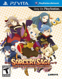 Aksys Games Sorcery Saga The Curse of the Great Curry God PS Vita Game