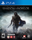 Monolith Productions Middle Earth Shadow of Mordor PS4 Playstation 4 Game