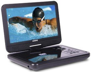 """Image of Laser DVD Player Portable 10"""" Wide Screen DVD-PORTABLE-10"""