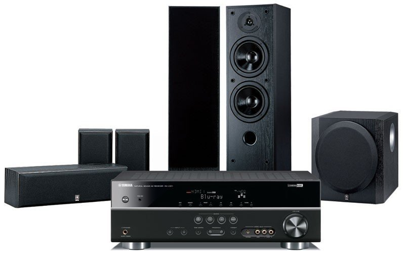 Best yamaha yht696aub home theatre system prices in for Yamaha home stereo systems