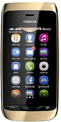 Nokia Asha 308 Mobile Cell Phone