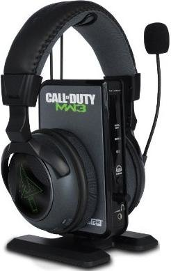 Bluetooth headphones mic wireless - Turtle Beach Call of Duty: MW3 Ear Force Charlie - headset Overview