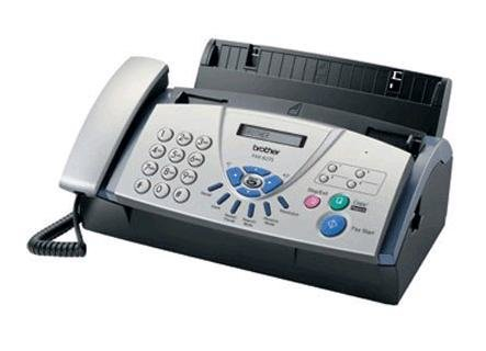 how to set up brother fax machine 575
