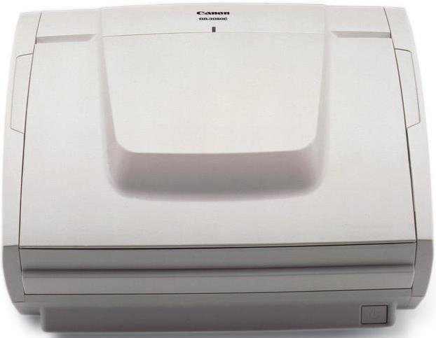 Canon dr-3080cii scanner