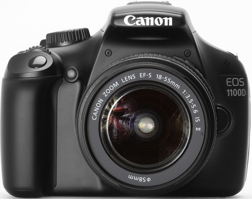 Image of Canon EOS 100D Digital SLR Camera Body Only - [100DB]