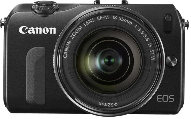 Image of Canon EOS M Body Black Compact System Camera