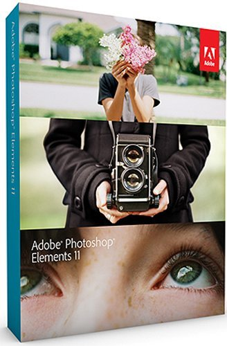 Adobe Photoshop Elements 11 Mac & Windows Graphics Software
