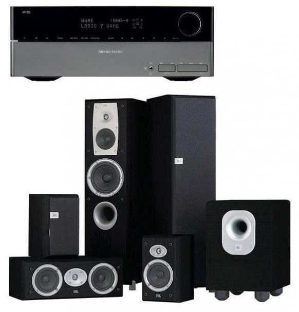 best harman kardon hk2016 home theater system prices in. Black Bedroom Furniture Sets. Home Design Ideas