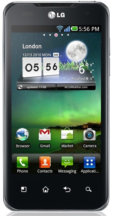 LG Optimus 2X P990 Mobile Phone