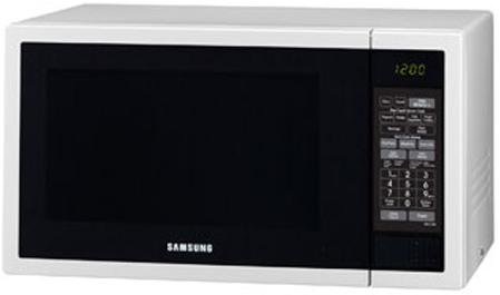 Image of Samsung 34L 1000W White Microwave ME6124W1