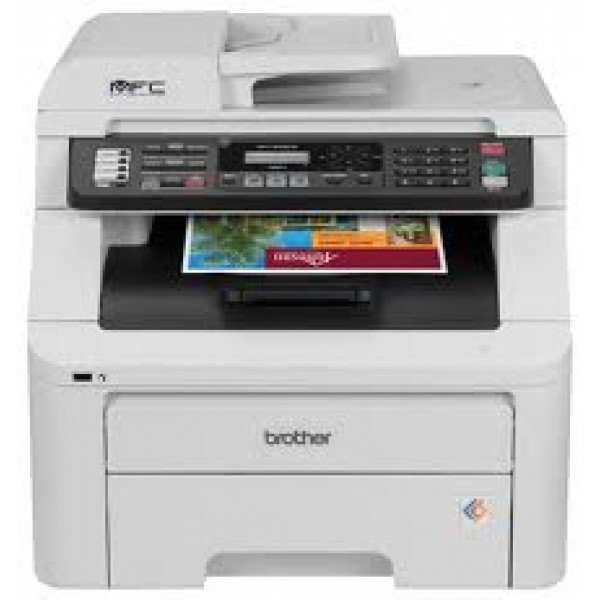 Image of Brother MFC Series MFC-9325CW MFC / All-In-One Color Wireless 802.11b/g/n Digital Color LED Printer