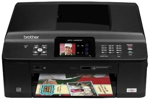Image of Brother MFC series MFC-J625DW Wireless (802.11 b/g/n) InkJet MFC / All-In-One Color Printer