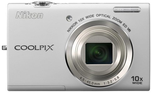 Image of Nikon Coolpix S6200 Digital Compact Camera - Silver (REFURB)