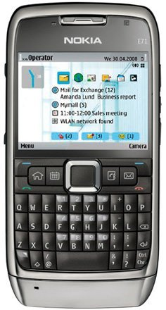 Nokia E71 Mobile Phone