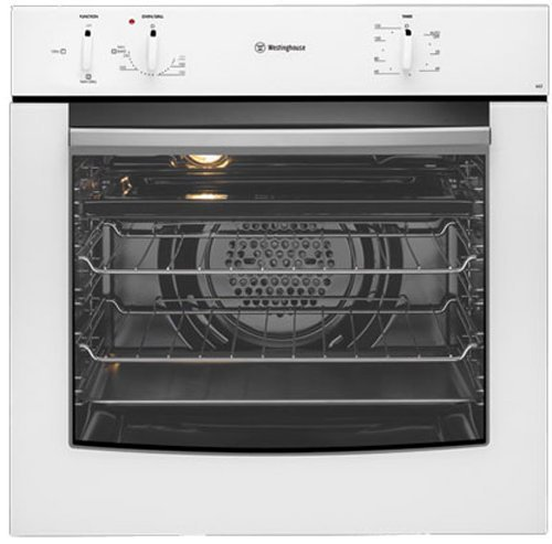 Image of Westinghouse PORS663W 60cm Electric Side Opening Single Oven (Factory Second 1 Yr Manufacturer's Warranty)