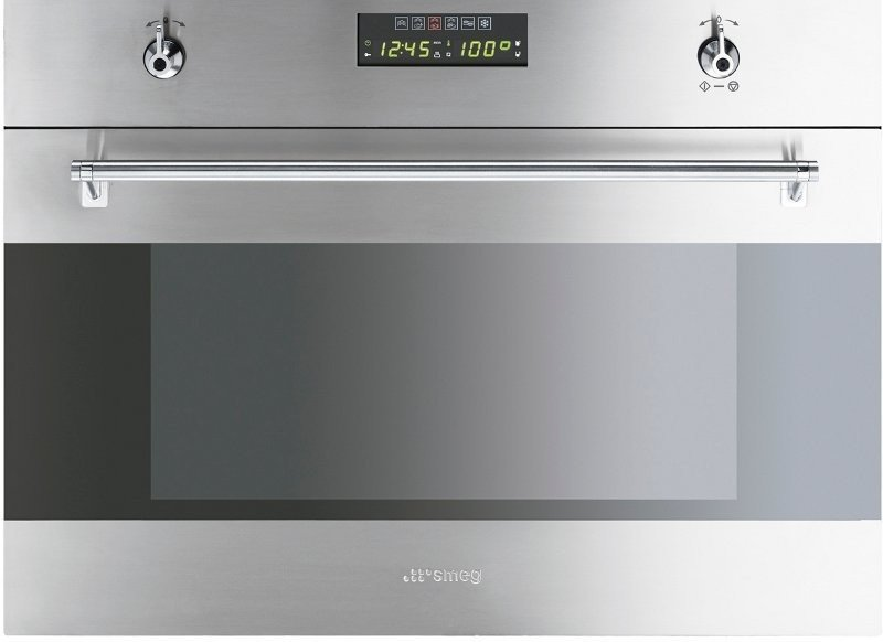 Image of (Sydney Delivery) Smeg SA45VX2 Compact Multi-Function Steam Oven (Factory Seconds 12 Months Warranty)