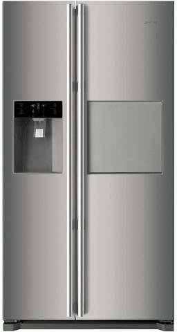 Image of Smeg SR620XPK 608L Side by Side Fridge