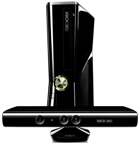 Microsoft Xbox 360 S 250GB Console Kinect Game Console