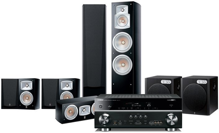 Best yamaha yht 1096au home theater system prices in for Yamaha 7 2 home theatre system