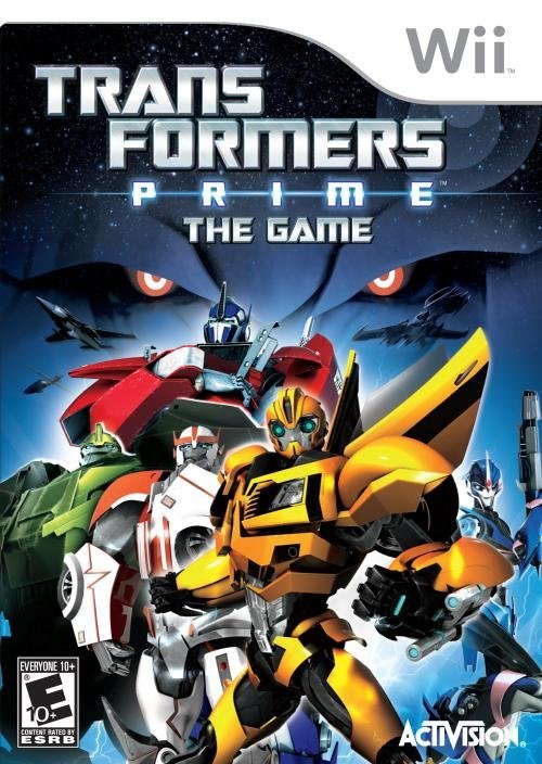 Activision Transformers Prime Nintendo Wii Game