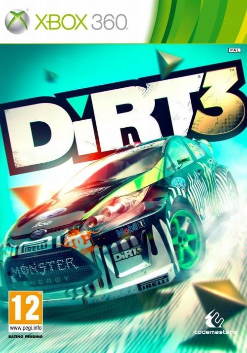 Codemasters Dirt 3 Xbox 360 Game