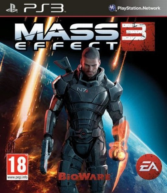 Electronic Arts Mass Effect 3 PS3 Playstation 3 Game