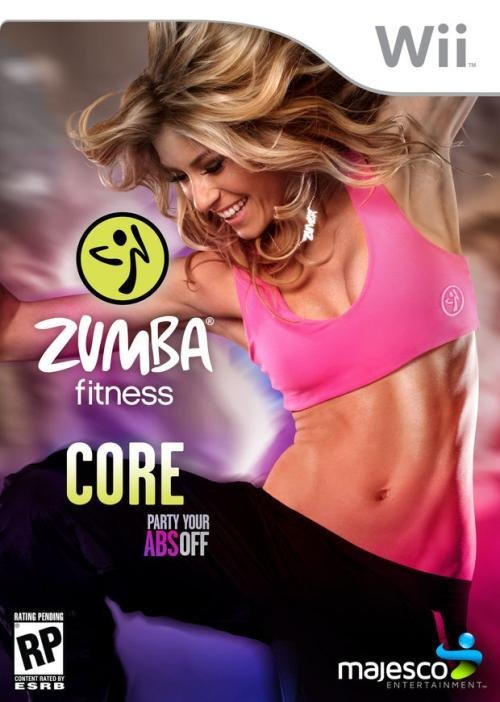 Majesco Zumba Fitness Core Nintendo Wii Game