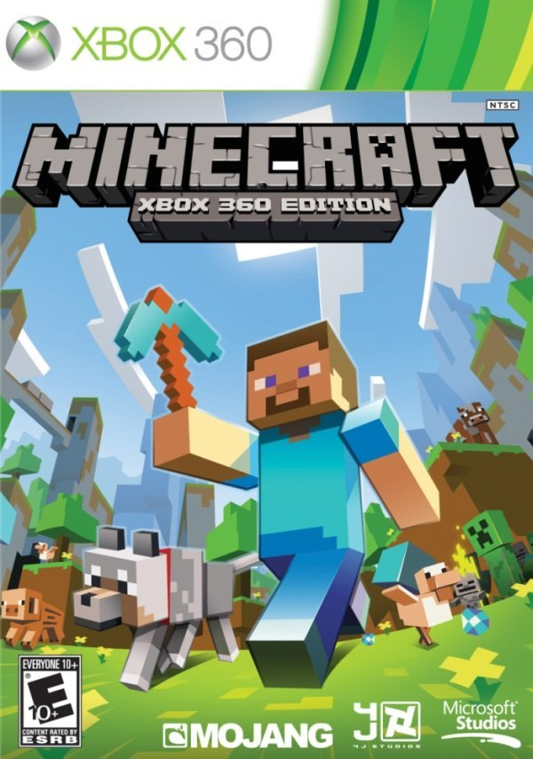 Microsoft Minecraft Xbox 360 Game