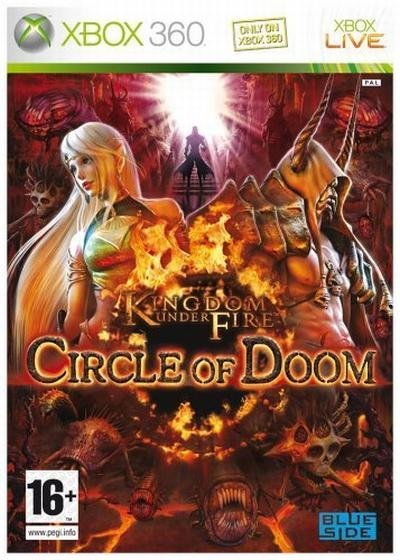 Microsoft Kingdom Under Fire Circle of Doom Xbox 360 Game