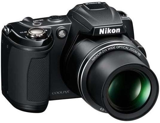 Image of Nikon Coolpix L120 Digital Compact Camera (REFURB)