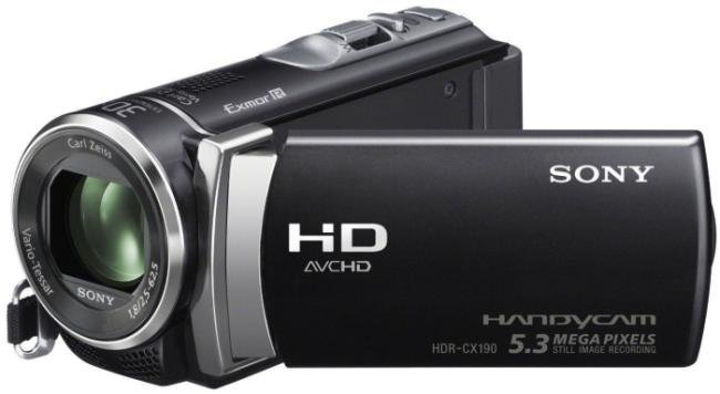 Sony HDR CX190 Camcorder