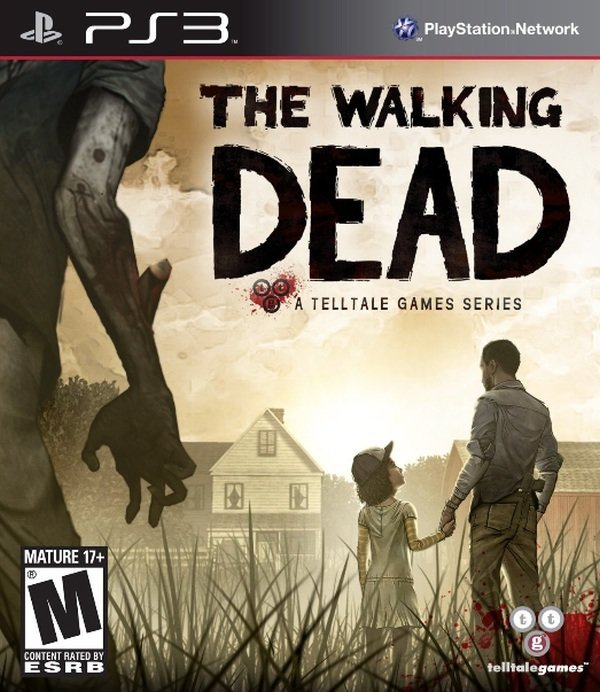 Telltale Games The Walking Dead PS3 Playstation 3 Game