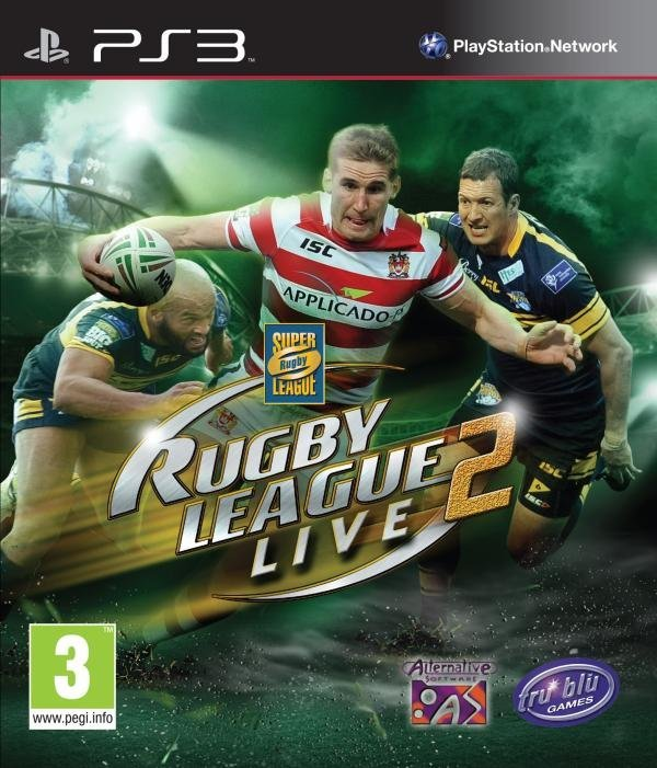 Sports Rugby Live: Best Tru Blu Entertainment Rugby League Live 2 PS3